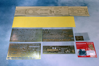 Новый ARTWOX 78029 Миссури военных кораблей, включая 5 Tamiya PE деревянной палубе 3 М AD10001 защитную бумагу