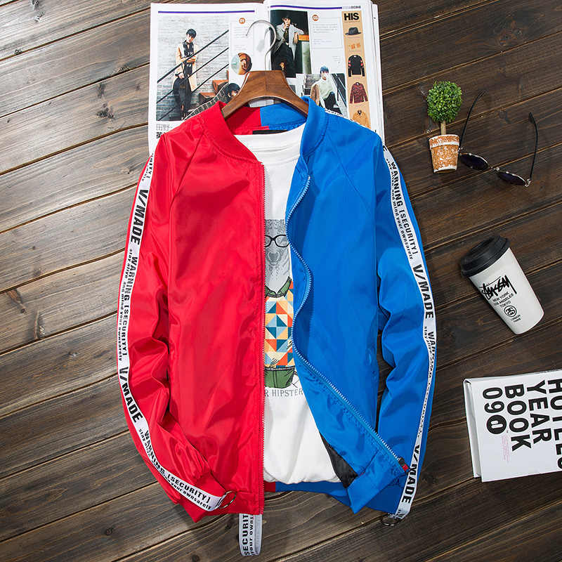 1b1a9e990bb KUYOMENS Autumn winter jackets men thin jacket mens coat streetwear lover  clothes windbreaker man hip hop