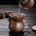 Фильтр для чайных чашек Yixing Raw Ore  фильтр для чайных чашек из фиолетовой глины  фильтр для чая Chahai  аксессуары для чая кунг-фу  бесплатная дост...
