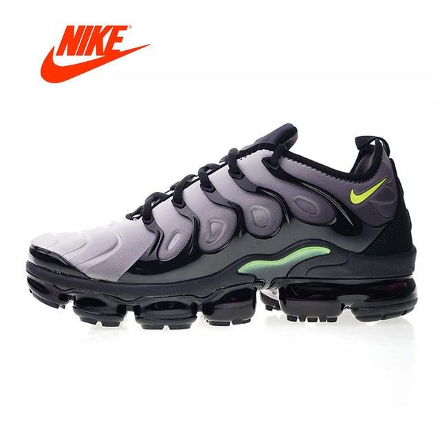 1bc723bf Nueva llegada Original auténticos Nike Air Vapormax Plus TM cómodo hombres  zapatos corrientes del deporte Zapatillas