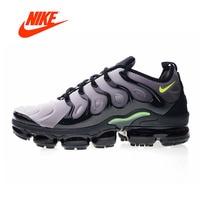 Original New Arrival Authentic Nike Air Vapormax Plus TM Men's Comfortable Running Shoes Sport Outdoor Sneakers 924453 009