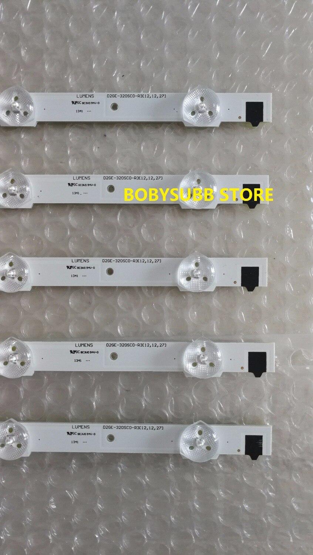 1 Set=5pcs New For Samsung UA32F4088AR/J CY-HF320GEV5H 32 inch LED Strip D2GE-320SC0-R3 650mm 9 LEDS