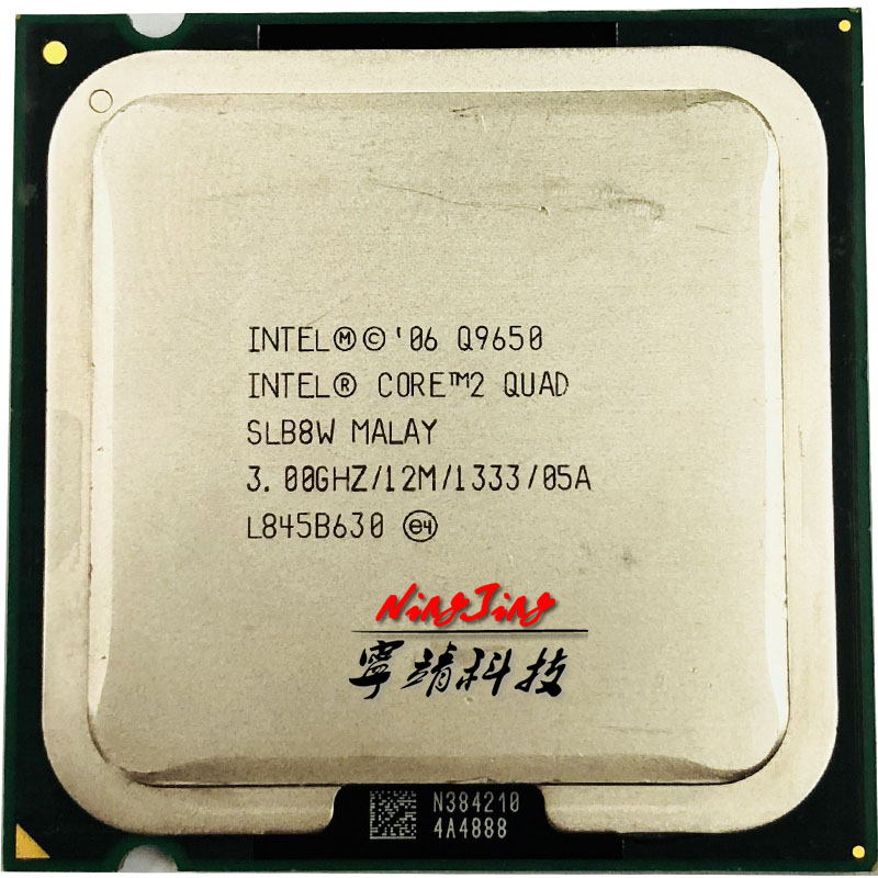 Intel Core 2 Quad Q9650 3.0 GHz Quad-Core CPU Processor 12M 95W LGA 775