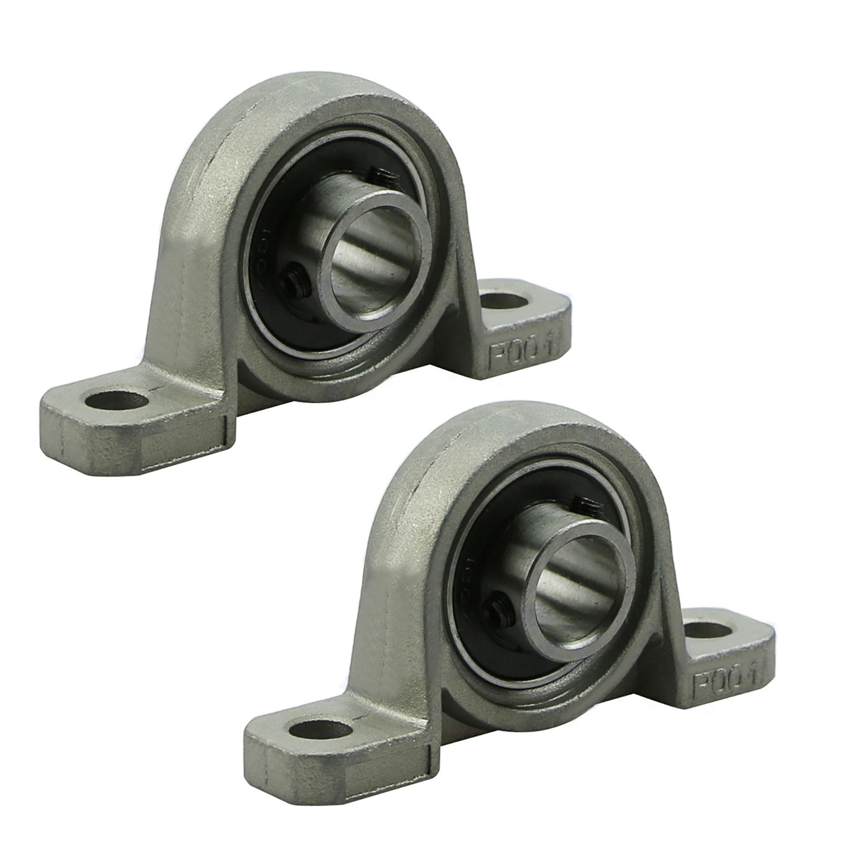 2pcs Precision KP001 Bearing Shaft 12mm Diameter Zinc Alloy Pillow Block Mounted Support Ball Bearings Housing Roller Mayitr 2pcs precision kp001 bearing shaft 12mm diameter zinc alloy pillow block mounted support ball bearings housing roller mayitr