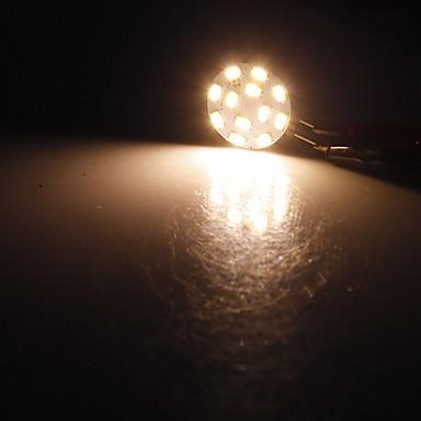 Купить с кэшбэком 10pcs Spotlight 12*5730SMD 3W G4 LED Lamp corn led Mini Lampada led Bulb Lamp High Power 360 Degree Replace Halogen Lamp  12V