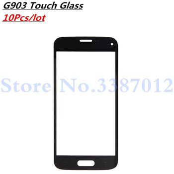 10pcs/lot Front Glass Touch Screen LCD Outer Panel Lens Repair Part For Samsung Galaxy S5 Neo G903F G903W G903 image