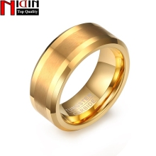 NIDIN 2017 Fashion Simple Original 8MM Brushed Tungsten Stee