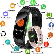 LIGE Smart Wristband Sports Watch Silicone Bracelet Ip67 Waterproof Heart Rate Monitor Pedometer Sports Tracking Bracelet + Box