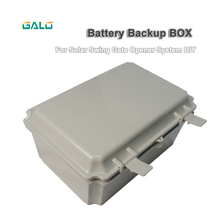 Solar System DIY use GSM Swing Gate Opener actuator motor gate controller Backup battery Box