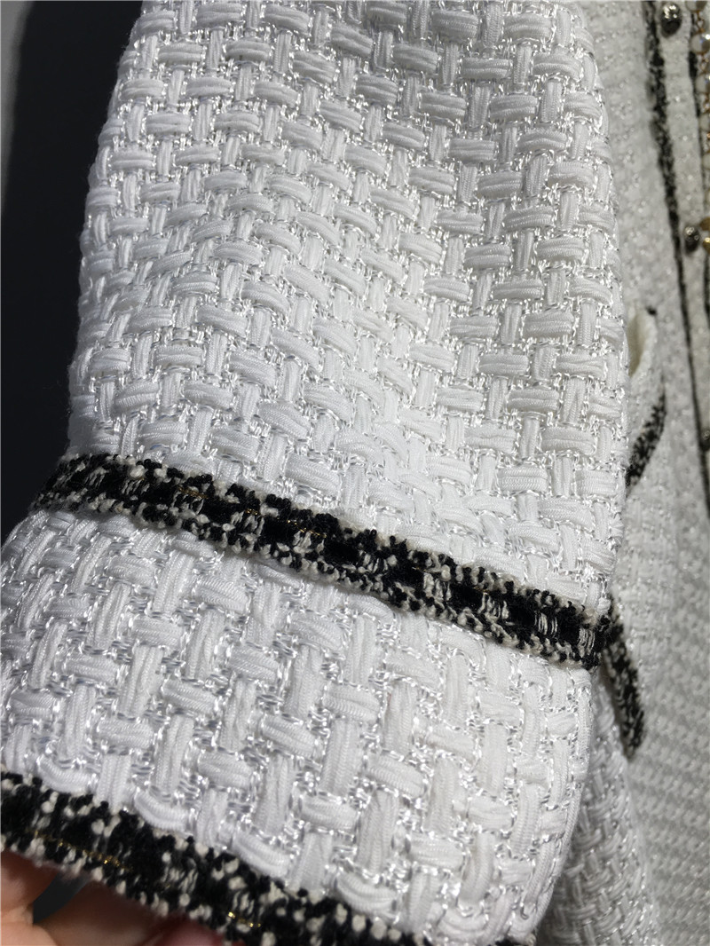 women elegant office dress,custom plus size xs-6xl,tweed winter dress,ladies vestidos de fiesta,tweed autumn White dress 17