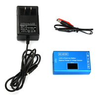 Free Shipping BC 4S15D Battery Lithium Lipo Balance Charger With Voltage Display 1500mA For 2s 3s