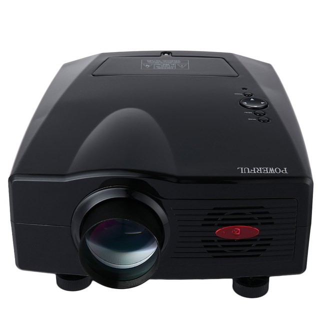 Mini Projector POWERFUL SV - 100 Full HD 1080P 3500 Lumens 800 x 480 Pixels Home Cinema Proyector Video Game Projector