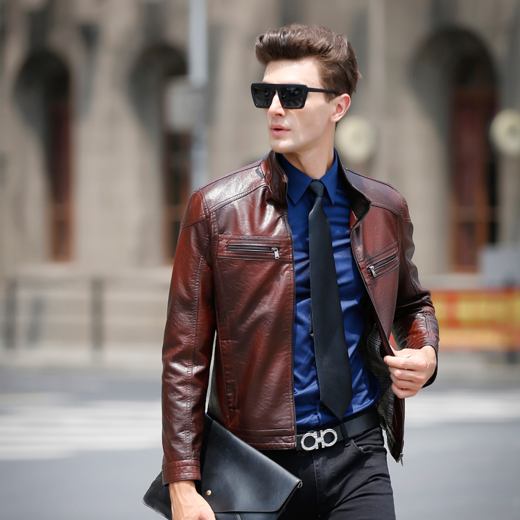 Casual Leather Jackets For Men - Jacket