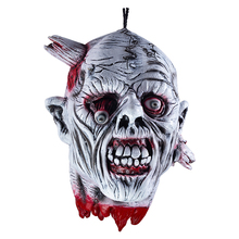 Halloween Decoration Scary Bloody Prank Toy Nail Through Head Horror Halloween Props April Fools' Day Cosplay