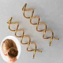 Hair-Clip Bobby-Pins Spiral Barrettes Spin-Screw Twist Professional Women Ladies Simple