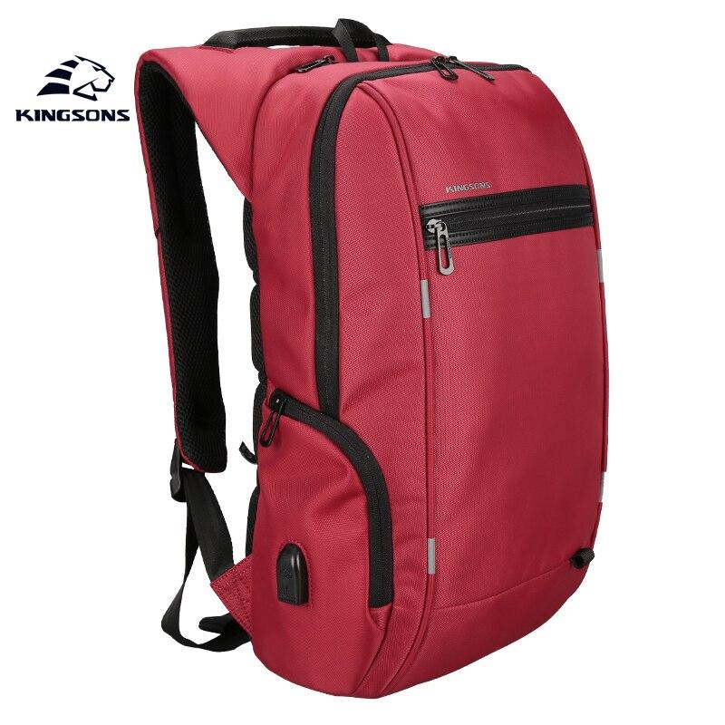 NEW Kingsons KS3144W 15 6 inch Men Women s Multi function Laptop Backpack Anti impact Waterproof