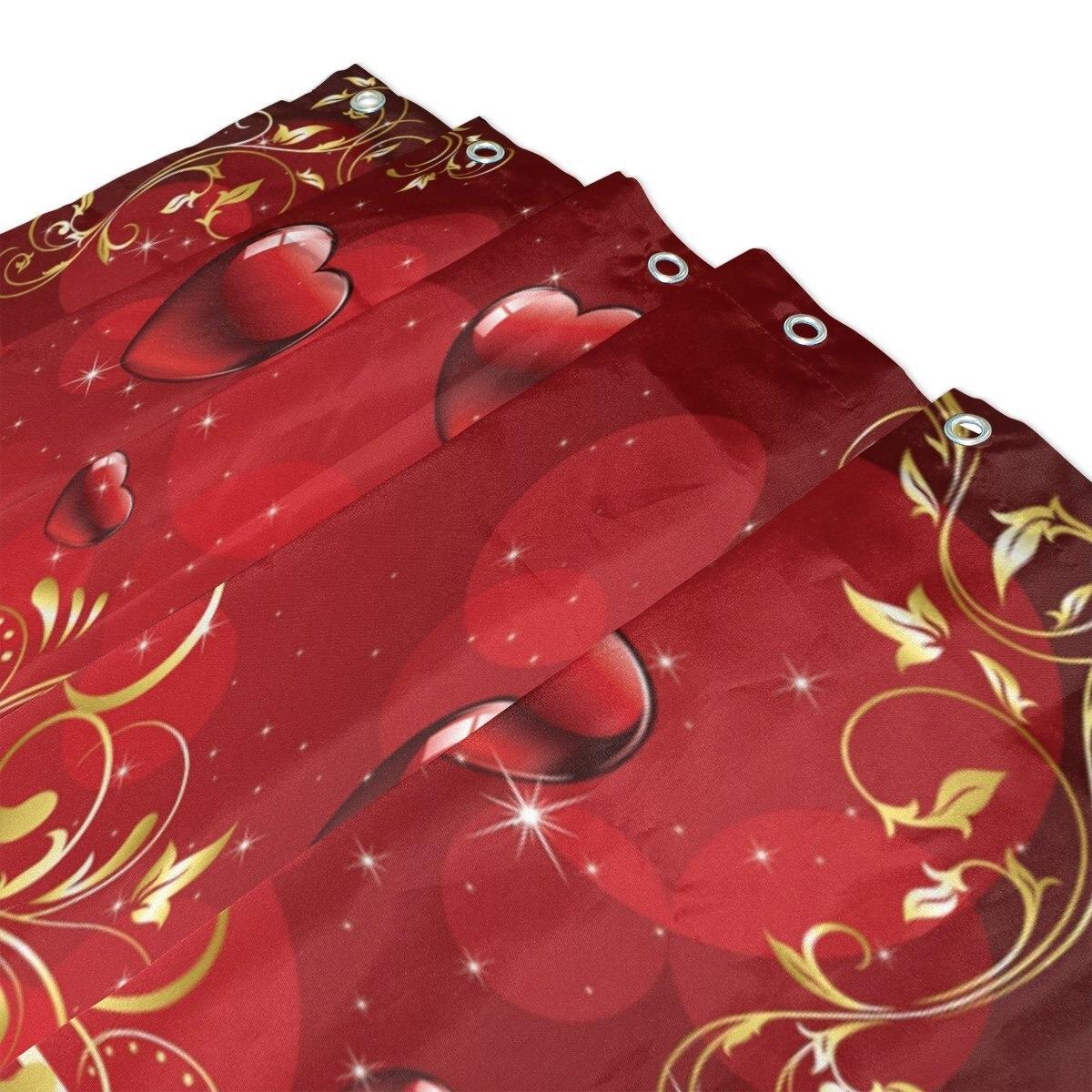 Весна Зеленый Клевер душ Шторы и Коврики комплект, Счастливый День Святого Патрика Водонепроницаемый Ткань Ванная комната Шторы