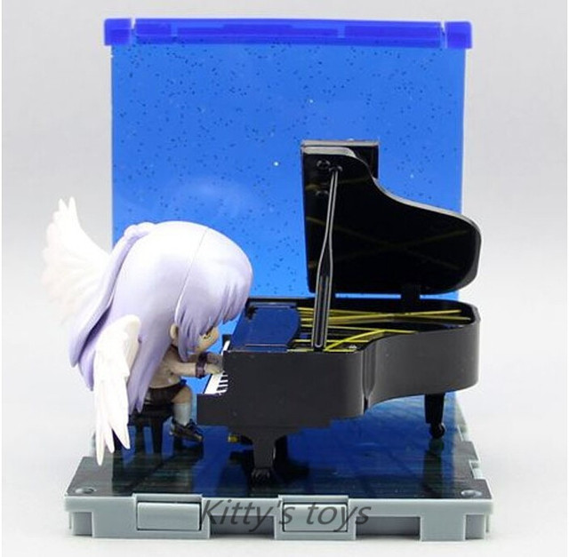 US $16 99 30% OFF|Angel Beats! PVC Action FIgure Angel Tachibana Kanade  Piano Set Nendoroid Collectibles Figure Free shipping KA0399-in Action &  Toy