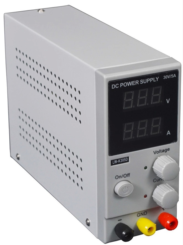 ФОТО high quality lw-K305D (110V/220V ) 30V 5A Mini Switching Regulated Adjustable DC Power Supply LW K305D