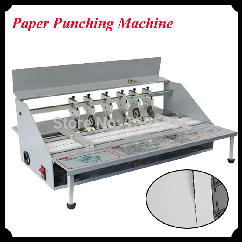 1pc Electric Book Cover Creasing Machine Paper Punching Machine Cutting and Paper Creasing Machine DDYHJ10  цены
