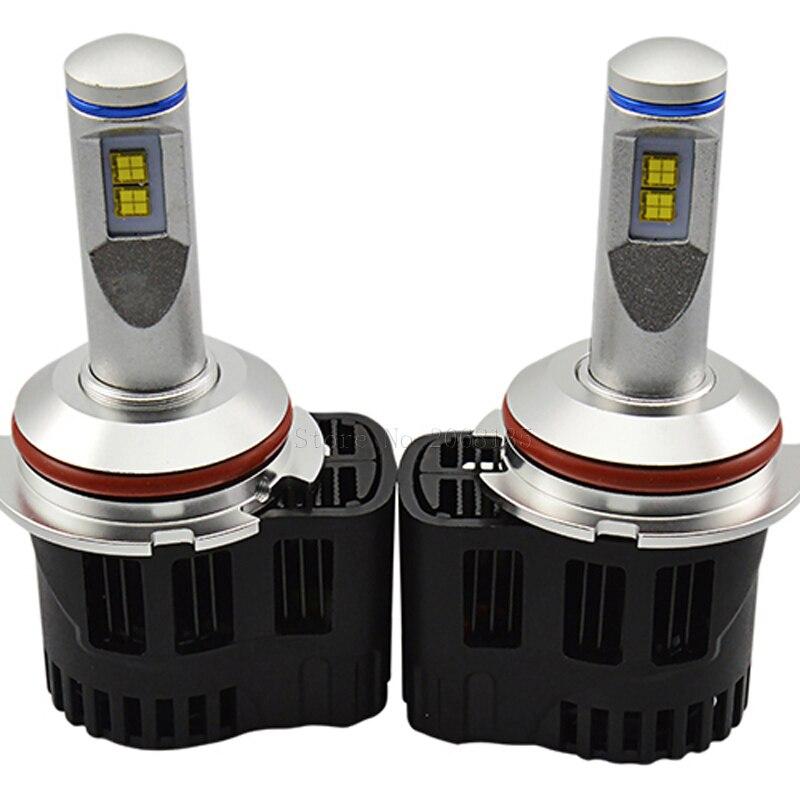 2 PCS NOUVEAU Haute qualité ZY P6 110 W 10400LM LED Phare Kit Conversion Canbus Ampoules 9004 9007 3000 K 4000 K 5000 K 6000 K