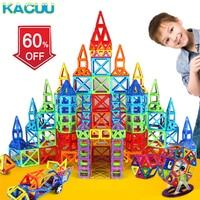 67 135PCS Designer Magnetic Blocks Big Size DIY Magnet Toys Pulling Magnetic Building Blocks Assembled Toys For Children Gifts