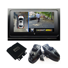WEIVISIN 1080 P 360 вид птица Видеорегистраторы для автомобилей запись монитор Системы, все Круглый заднего вида Камера для Toyota Camry Reiz Crown Corolla