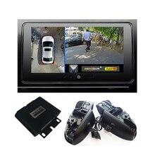 Автомобильный видеорегистратор с обзором птиц 1080P 360, система записи, круглая камера заднего вида для Toyota Camry reez, Crown, Corolla