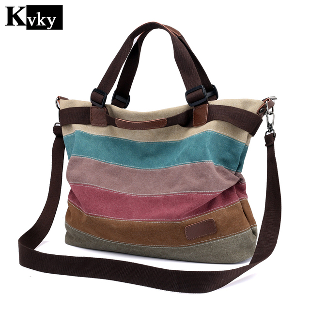 36be50cc60 Woman Canvas Shoulder Bag
