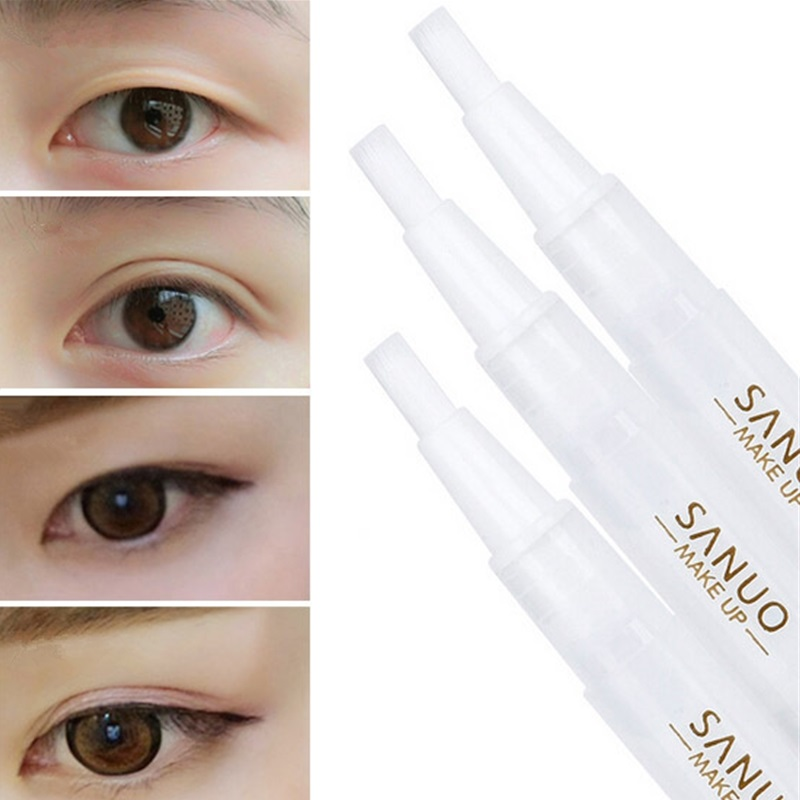 Eyelid Tools Eyeliner Stereotypes Lasting Waterproof Sweatproof Invisible Double Eyelid Glue Eye Beauty Makeup Fold Eyelids Tape Кубок