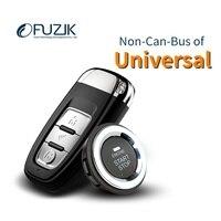 Fuzik universal peps Keyless Go Smart Key Keyless Entry Push Remote Button Start Car Alarm standard lite single pack