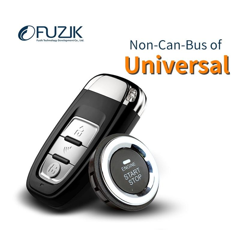 Fuzik universel peps Keyless Go Smart Clé Keyless Entry Push Bouton À Distance Alarme de Démarrage De Voiture standard lite seul paquet