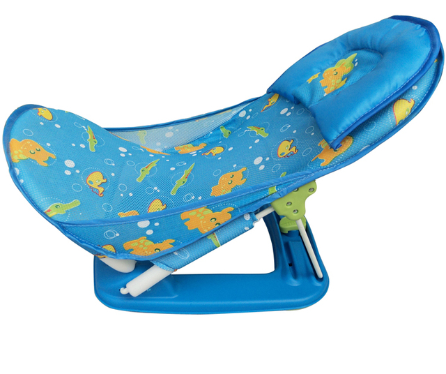 Free Shipping New 2015 Sale Plastic Solid Baby Bath Seat Piscina Baby  Shower Chair / Baby