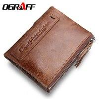 Brand Men Wallets Dollar Price Purse Travel Leather Wallet Card Holder Luxury Designer Clutch Business Mini