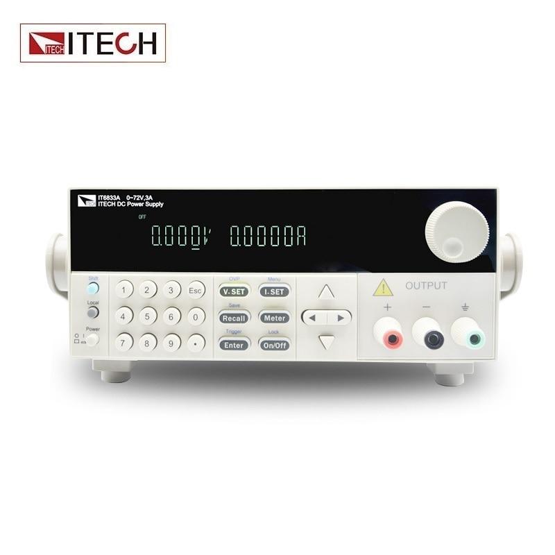 ITECH IT6833A Single Channel Programmable DC Power Supply 72V 3A 216W
