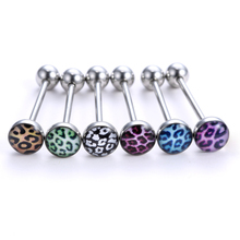 6pcs Body Tongue piercing Jewelry 2015 fashion Stainless steel Piercing Ring for women men body  jewelry