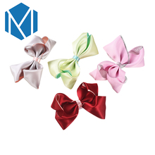 M MISM Children Solid Bow-kno Hair Clips Perfect Quality Barrettes Fine Hairpins Crown Hair Accessories for Kids Girls Hairgrips(China)