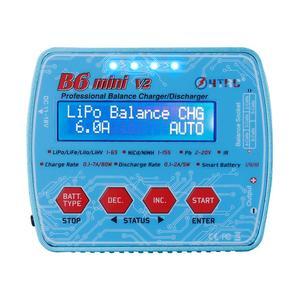 Image 2 - HTRC Imax B6 Mini V2 80W 7A Kỹ Thuật Số RC Pin Cân Bằng Sạc Adapter PB Lipo Lihv Liion Cuộc Sống niCD NiMH Pin Discharger