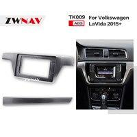 ZWNAV Car Double Din Frame radio Fascia Panel DVD Dash Interior Trim for Volkswagen VW LaVida 2015+