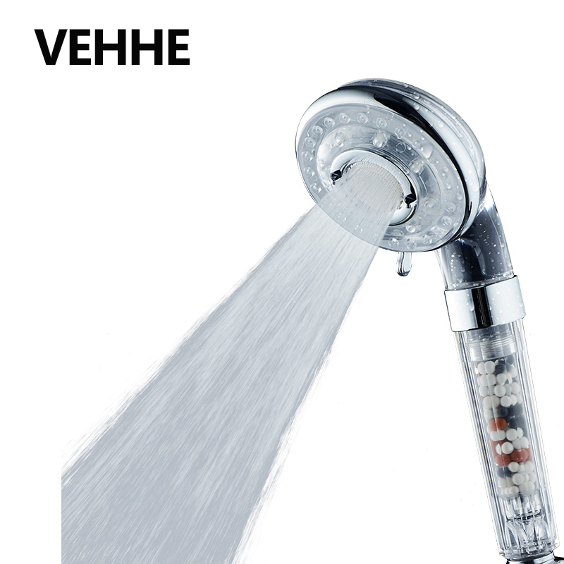 VEHHE High Quality SPA Watersaving Showerheads 4 Gear ABS High Pressure Shower Filter New Design Bathroom Shower Head VE200