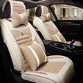 3D Автомобиля Сиденья Лен Автомобиля Чехлы Для BMW F10 F11 F25 F30 F20 F15 F16 F34 E60 E70 E90 1 3 4 5 7 Серии GT X1 X3 X4 X5 X6
