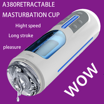 New Leten Flexible automatic masturbator Electric masturbation machine, male rotating masturbator vagina pussy sex toys for men.