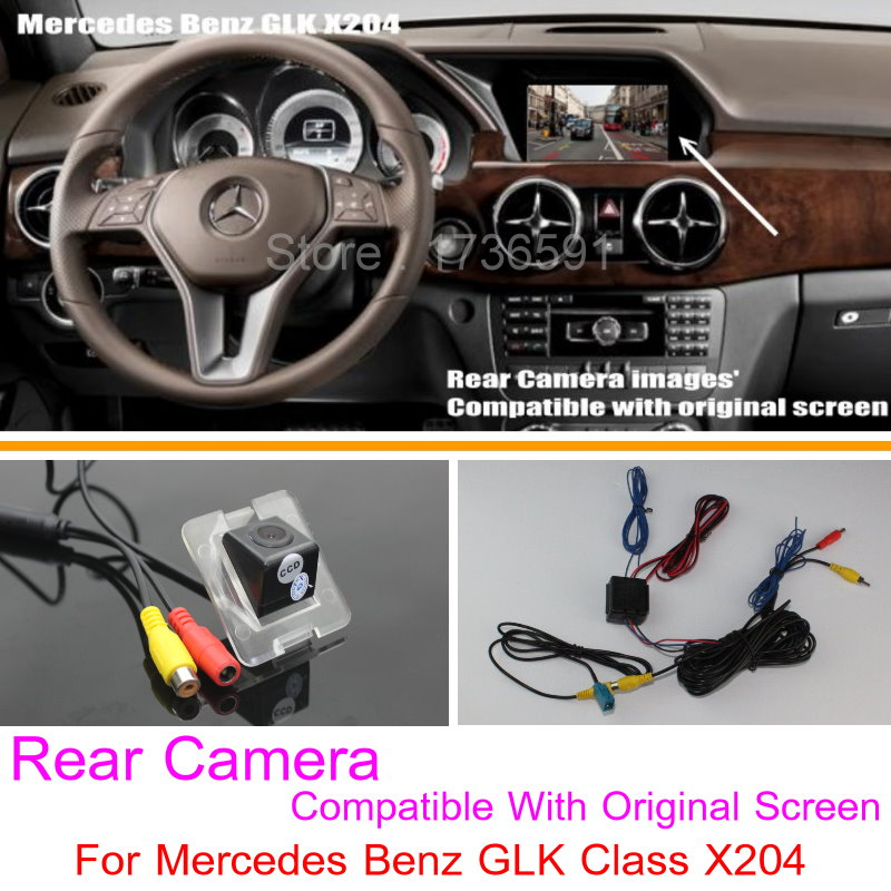 Car & Truck Parts Vehicle Electronics & Gps 2013-2015 Mercedes-benz Glk-class X204 Rearview Camera Interface Handle Camera Last Style