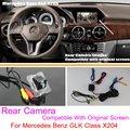 Para Mercedes Benz GLK Class X204/RCA y Pantalla Original Compatible/Cámara de Visión Trasera Fija/Copia de seguridad de Reversa cámara