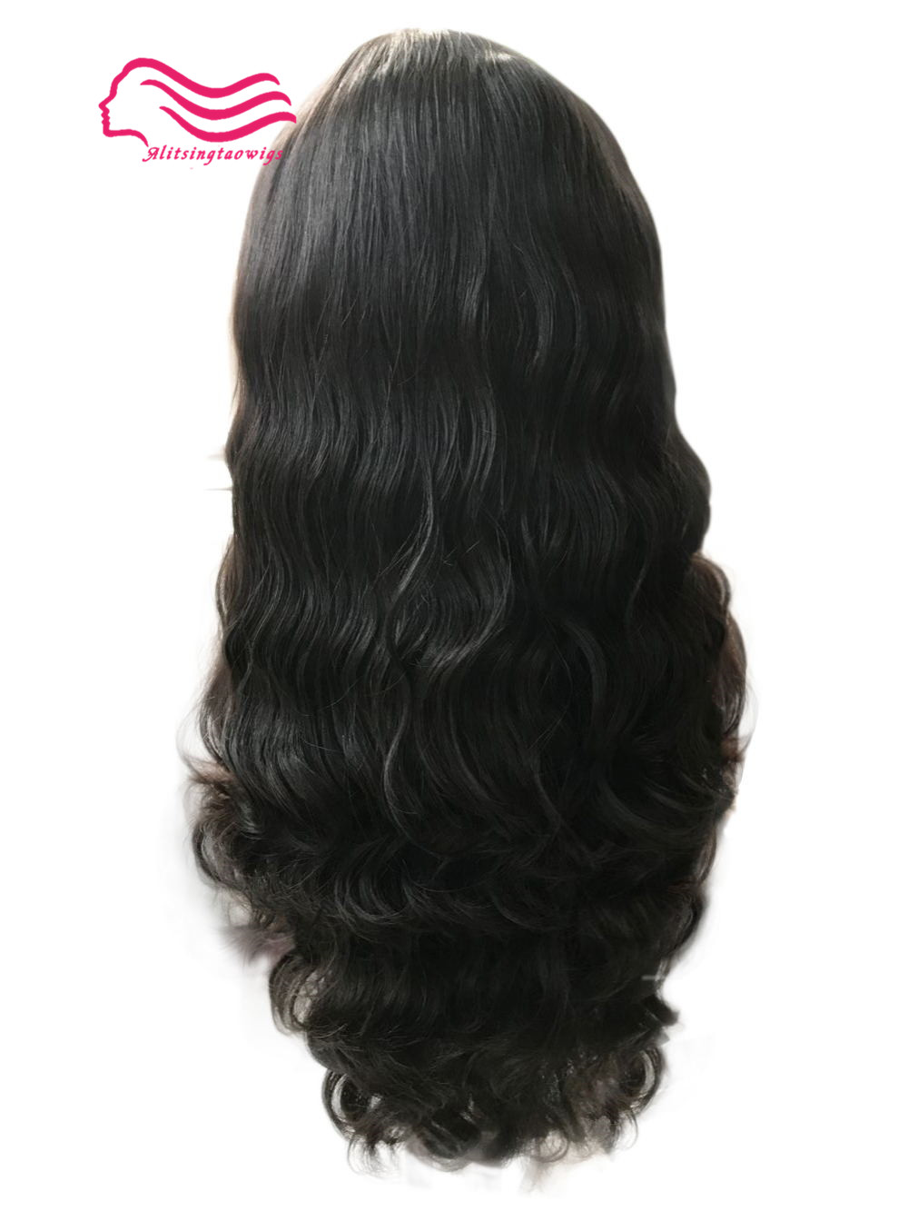 Top European virgin hair slight wave jewish wig ,silk top kosher wig Best Sheitels free shipping