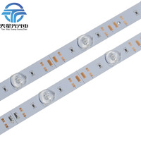 100 unids * 95 cm lente difusa aluminio 3030 LED barra rígida 1 W/LED DC 12 V para gabinete publicidad caja de luz