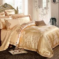 Bamboo Fiber Textile Cotton Satin Jacquard Bed Sheet Quilt Four Sets Of Summer 4 Sets Of