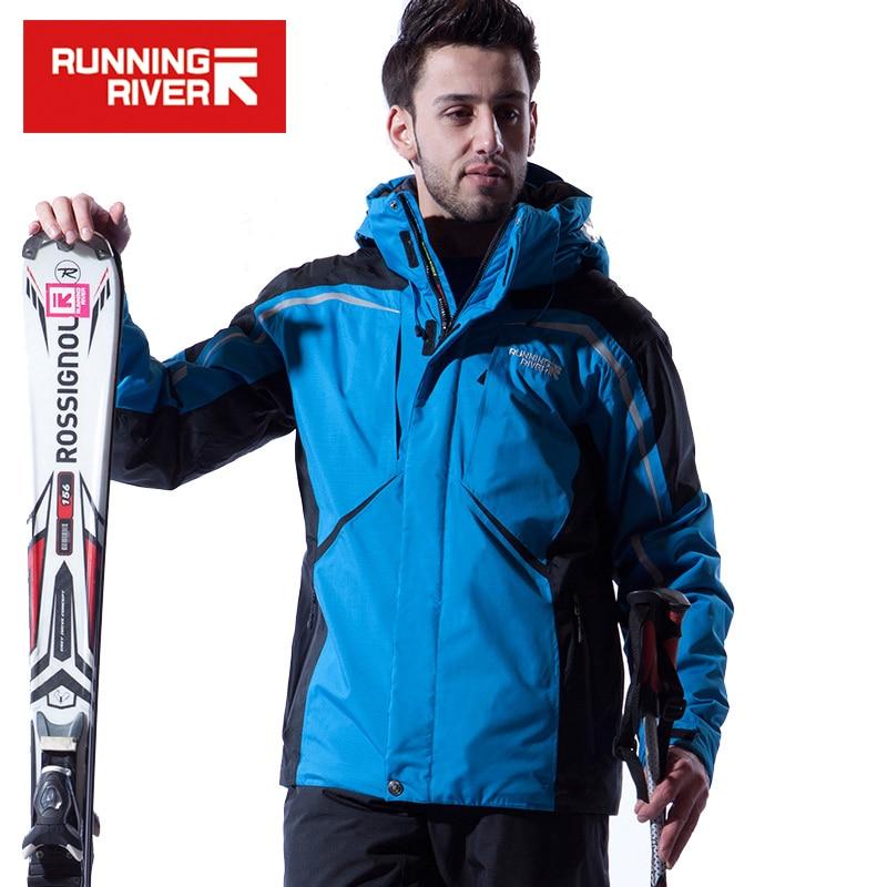 RUNNING RIVER Brand Men Winter Ski Jacket S XXXL Size Windproof Sports Jackets For Men Snow