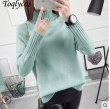 Sweater Female 2018 Autumn Winter Cashmere Knitted Women Sweater And Pullover Female Tricot Jersey Jumper Pull Femme 215(China)