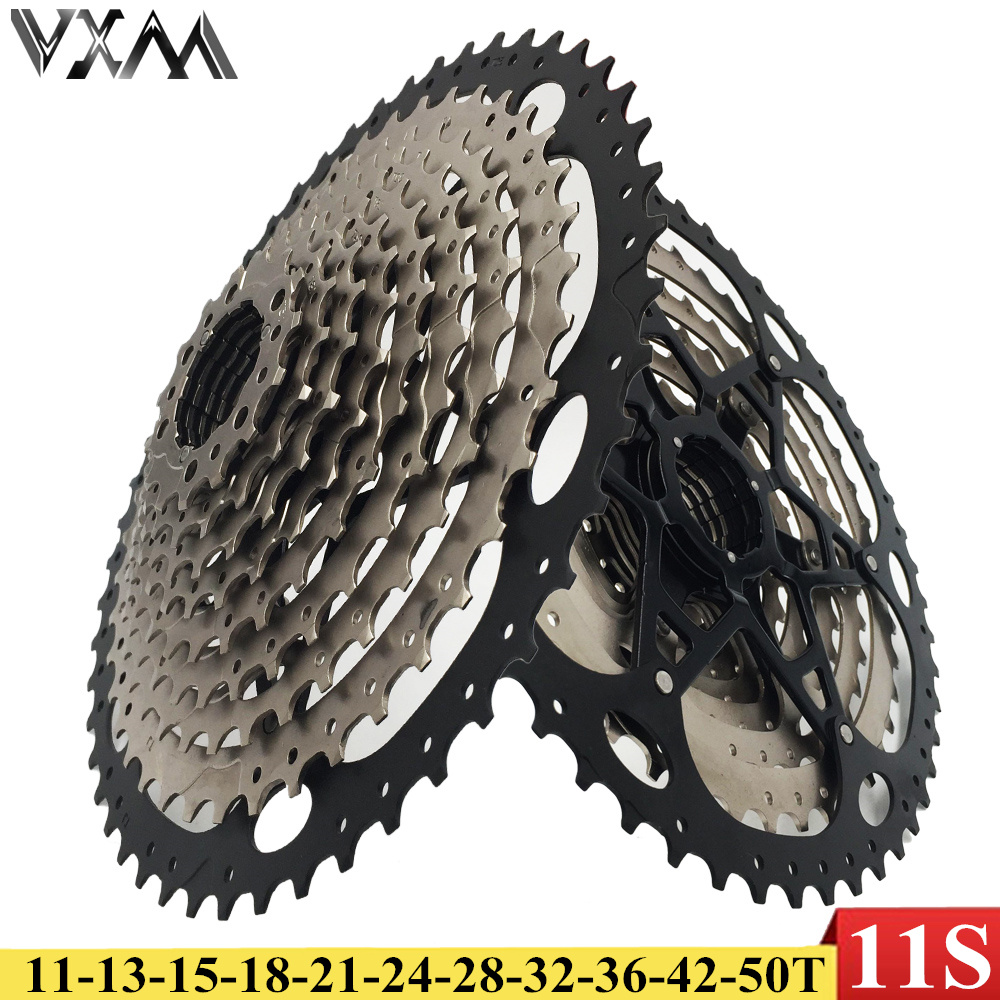 VXM Bicycle Flywheel 11S 11-50T Cassette MTB Bike Cassettes Freewheel 11Speed Flywheel for SRAM Shimano XT SLX M7000 M8000 M9000 shimano slx m7000 groupset 1x11 11s speed 11 42t 11 46t m7000 mtb bike shift lever rear dearilleur cassette chain cranset
